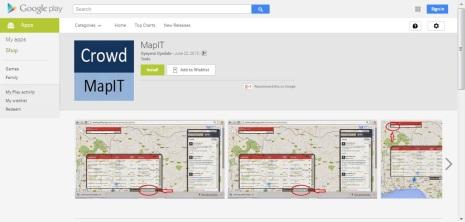 MapIT App Pic